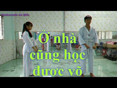 Học Taekwondo tại nhà - kĩ thuật căn bản giành cho các lớp phong trào - learn taekwondo at home