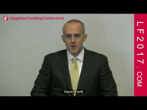 James McCarroll, Partner at Reed Smith on Attorney Experience on Litigation Finance LF2017 NYC