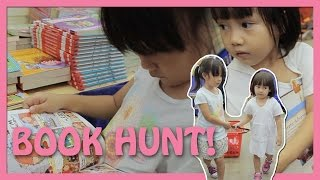 Book hunt at Big Bad Wolf Books sale, Jakarta, Indonesia | Toy Joy Channel