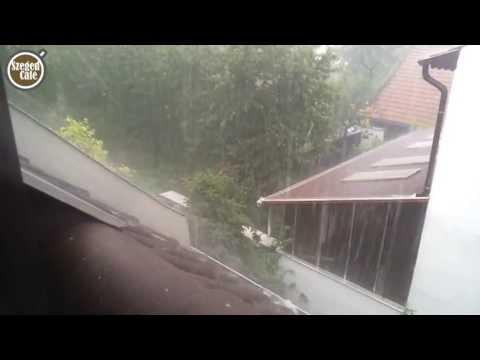 Jég verte és özönvíz áztatta Szegedet