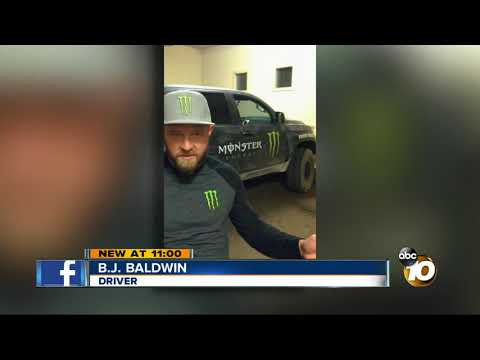 Family nearly hit by driver in Baja off road race