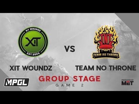 Team No Throne vs XiT Woundz vod