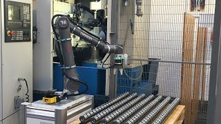 Cobots give gear manufacturer Fischer Gears a competitive production edge