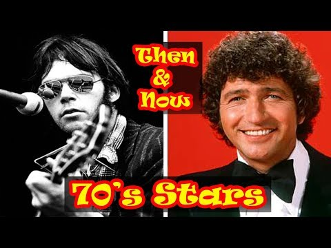 70s MUSIC ARTISTS Then And Now