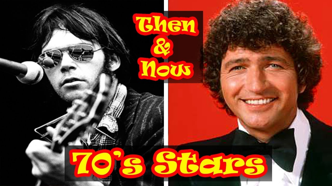 70's MUSIC ARTISTS Then And Now