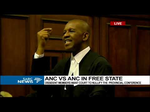 UPDATE: Court proceedings ANC vs ANC in the Free State