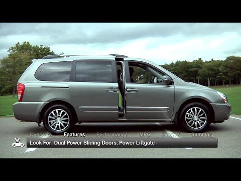 2012 Kia Sedona Used Car Report