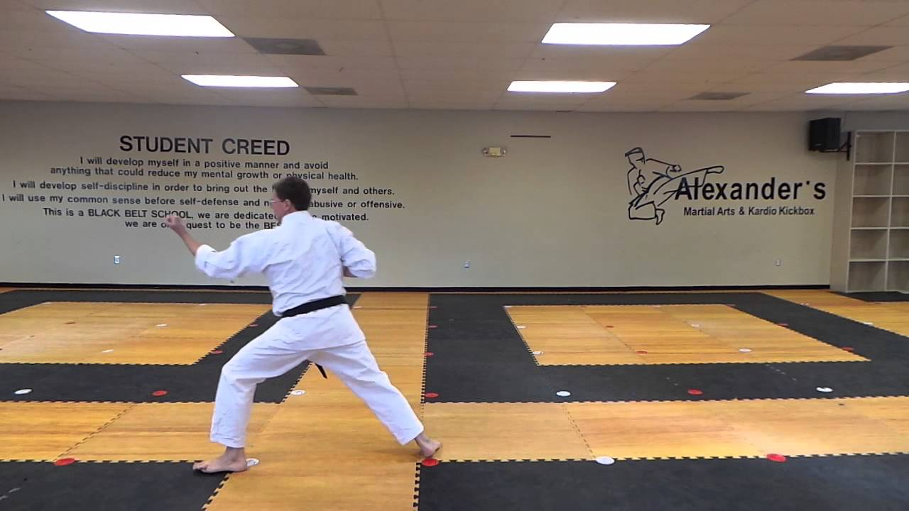Basic Kata 3 Front View with Description   YouTube