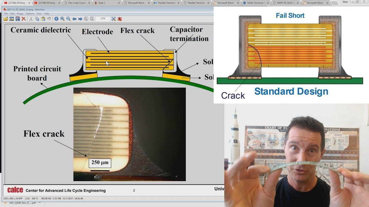 Eevblog 1037 Solving Ceramic Capacitor Cracking Youtube