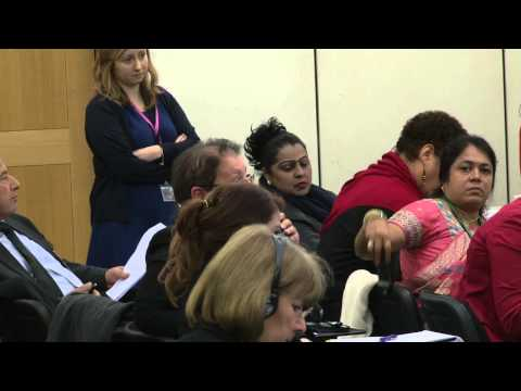 6 December 2012: Parliamentary Debate: 'Gender Quotas for Parliaments'