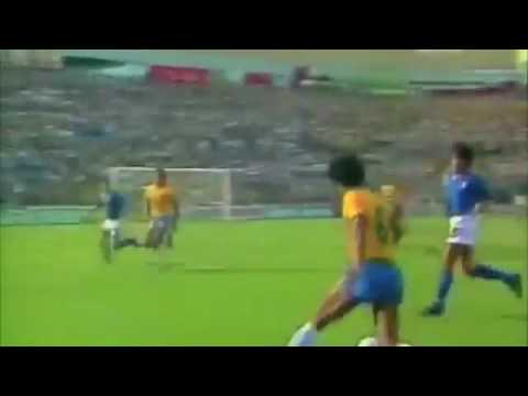 World Cup 1982 2nd Round Brasil 2 3 Italy Youtube