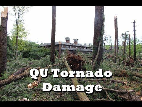 My College Hit by a Tornado: Quinnipiac University Tornado Damage