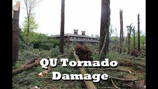 My College Hit by a Tornado: Quinnipiac University Tornado Damage Analysis