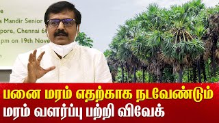 Actor Vivek plant a tree in Vidya Mandir Mylapore and explain how important is tree Green Kalam
