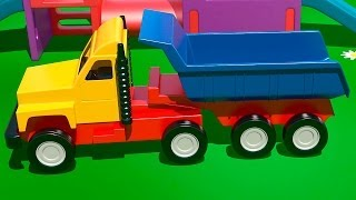 Мультфильмы про машинки - ГРУЗОВИК - На Детской Площадке