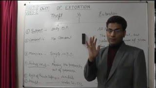 Theft Vs Extortion