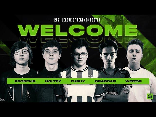 Team Singularity | League of Legends NLC Roster Announcement!
