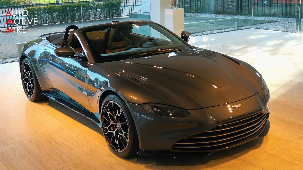 2020 Aston Martin Vantage Roadster First Look Sounds 4k Youtube