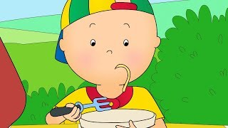 Funny Animated cartoons Kids 🍴 Caillou's Favourite Lunch 🍴 WATCH ONLINE | Cartoons for Children