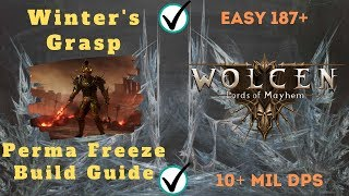 Wolcen Still Op After Patch 1.0.6 Winters Grasp Mage, Build Guide!!