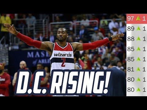 D.C. RISING! Rebuilding the Washington Wizards! NBA 2K18