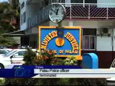Palau police officer terminated