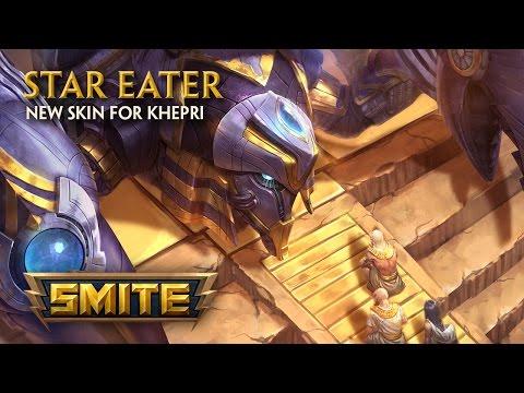 SMITE - New Skin for Khepri - Star Eater