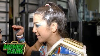 Bayley reacts to making Money in the Bank history: WWE Exclusive, May 19, 2019