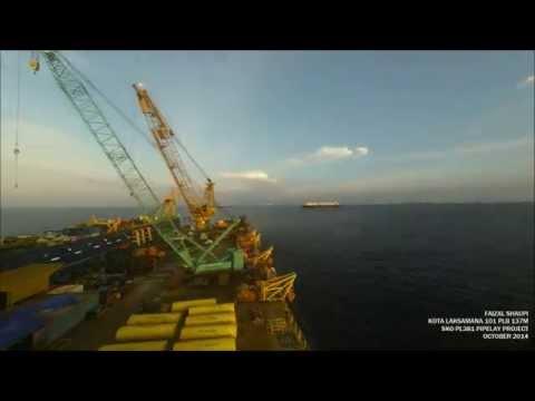 Kota Laksamana 101 Pipelay Barge 137M
