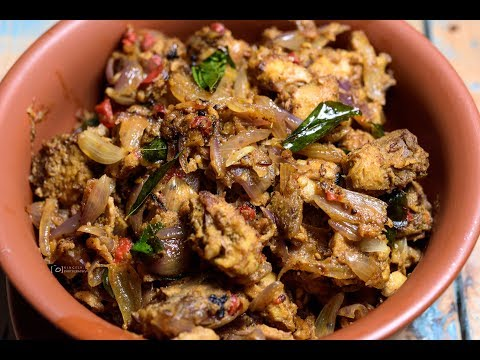 Tuna Pepper Roast | Tuna Fish Curry | Fish Roast