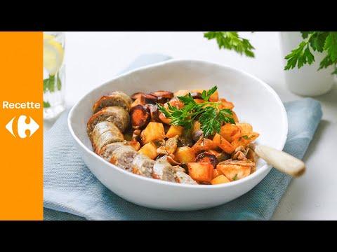 potée-rapide-aux-navets,-carottes-et-saucisse