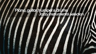 Piano, Guitar, Trumpet and Drums ( Jazzy Instrumental Selection ) -Top Lounge and Chill out Music