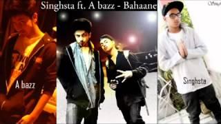 A bazz ft  Singhsta Zara Tasveer Se Tu Bahane   YouTube