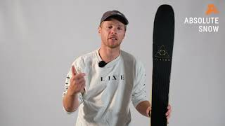 2020 / 2021   Line Vision 98 Skis   Video Review