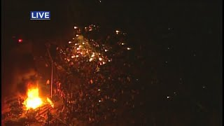 Protesters Breach Minneapolis Police's 3rd Precinct, Set Fires Inside