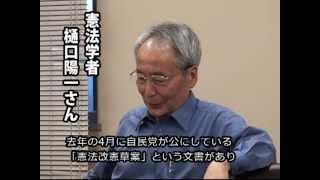 樋口陽一さんが語る 一人ひとりの「個人」の自由の大切さ