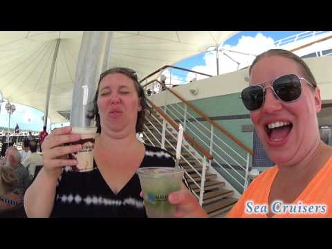 Day 2 on the Norwegian Sky Cruise Ship ~ Lunch & Review [Vlog episode 7]