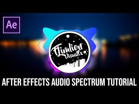 After Effects Audio Spectrum Tutorial (Trap Nation Effect & audio react & Bass Zoom)