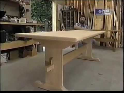 trestle table youtube