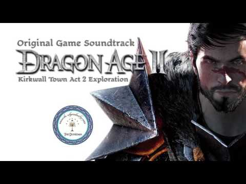 Dragon Age II - OST - Kirkwall Town Act 2 Exploration - 1080p HD