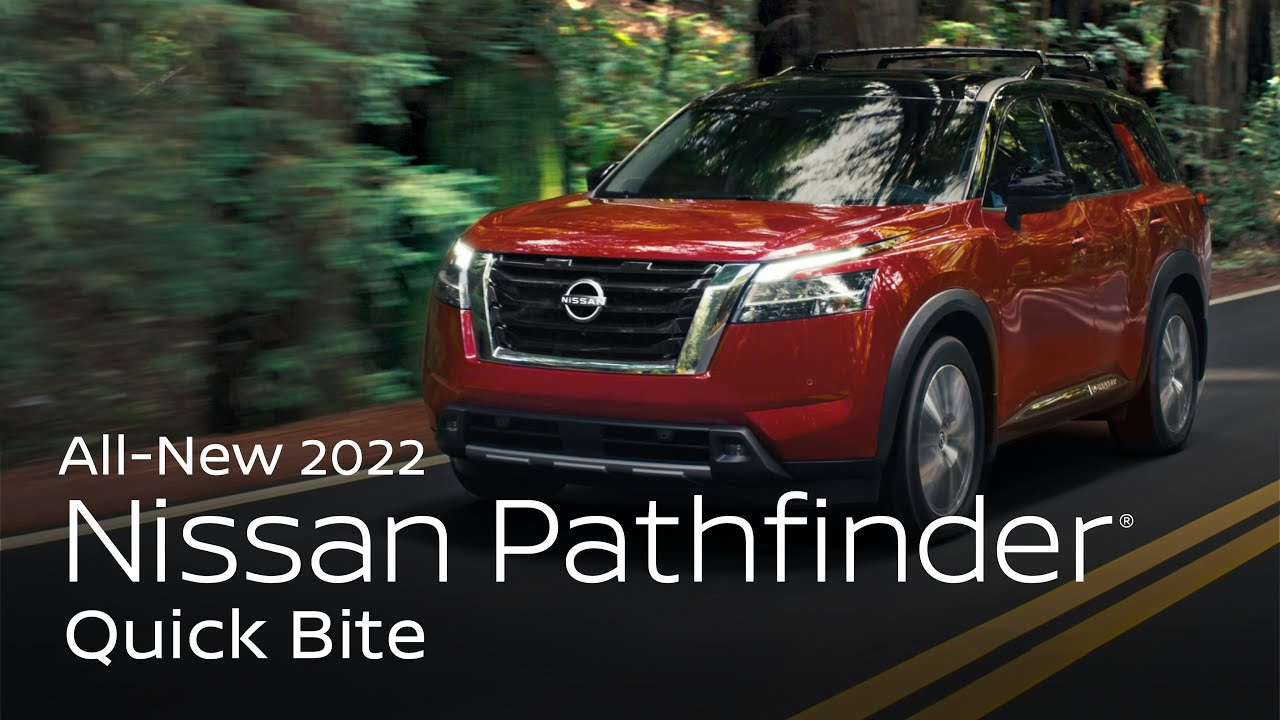 All-New 2022 Nissan Pathfinder SUV Overview