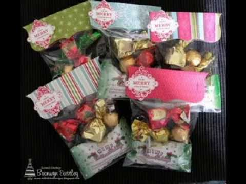 DIY Christmas goodie bag decorating ideas - YouTube