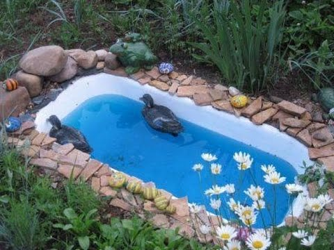 Teich selber bauen teich bauen youtube - Cheap pond ideas ...