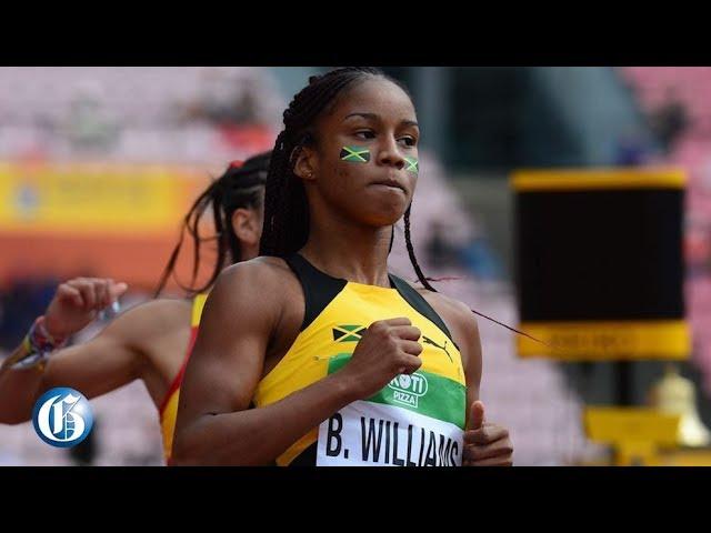 Sprinter Briana Williams' hearing set for September 23-25, Sprinter to miss World Championships