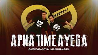 Apna Time Aaega || Ranveer Singh || Alia Bhatt|Nikunj Luharuka's Dance Choreography || Parth Rupani