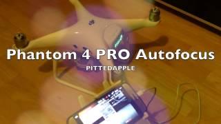 Dji Phantom 4 PRO, PRO+ Autofokus, Manueller Fokus, Exposure German, Review, Deutsch