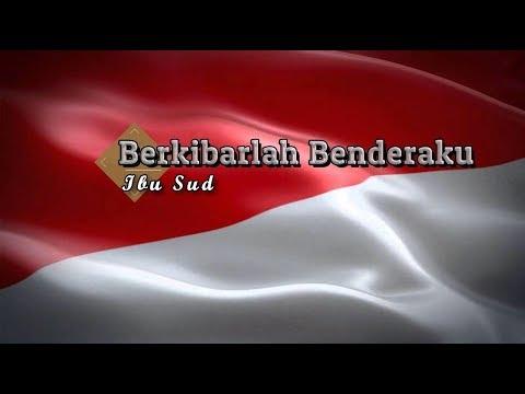 [Karaoke] 🎵 Ibu Sud - Berkibarlah Benderaku 🎵 +Lirik Lagu [PIANO]