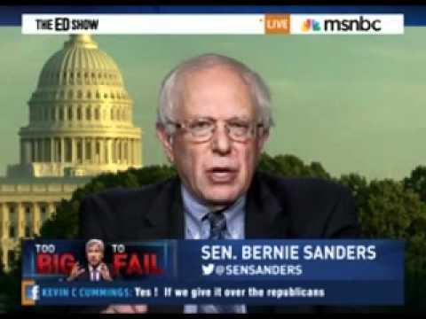 Senator Bernie Sanders on Jamie Dimon Testimony June 14, 2012