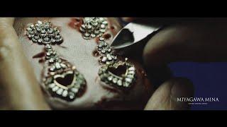 【Miyagawa Mina】Tanzanite Earrings (official video)