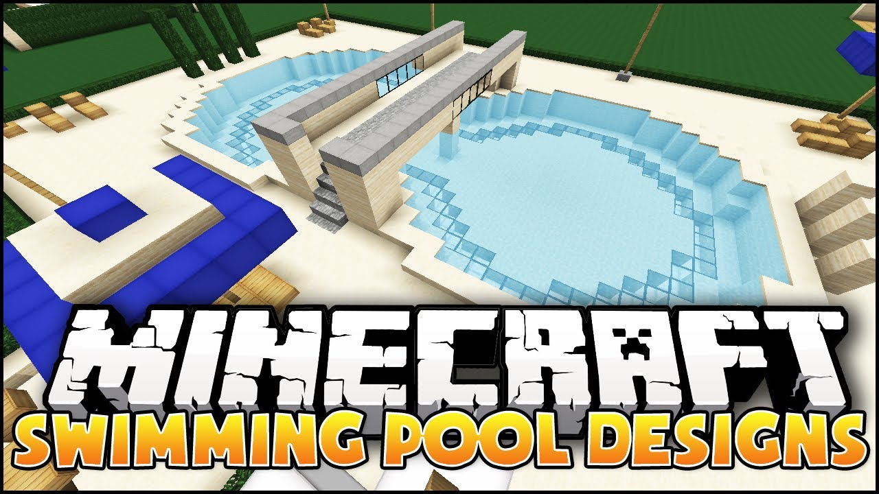 Minecraft: Swimming Pool Designs   YouTube
